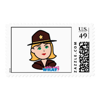 Sheriff Postage Stamp