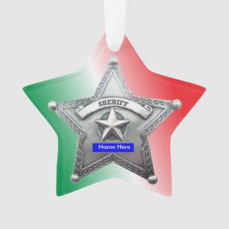 Sheriff's Badge Custom