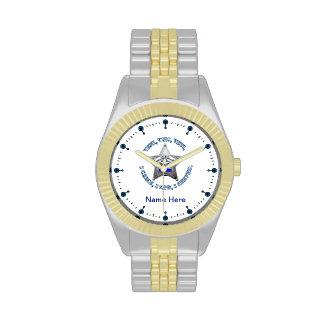 Sheriff's VVV Badge Wrist Watch