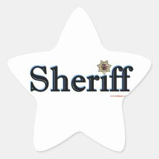 Sheriff_Script Colcomanias Forma De Estrella