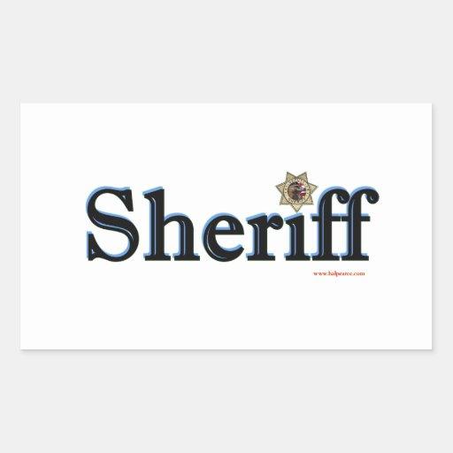 Sheriff_Script Rectangular Altavoces