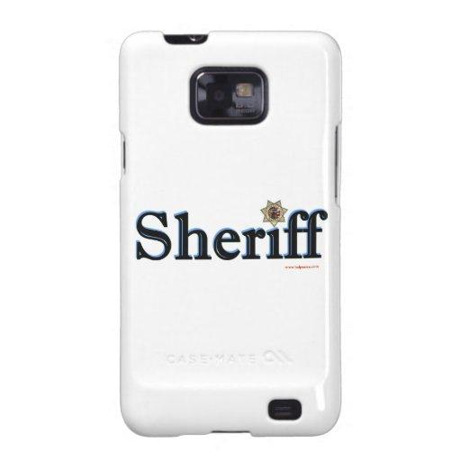 Sheriff_Script Samsung Galaxy SII Fundas
