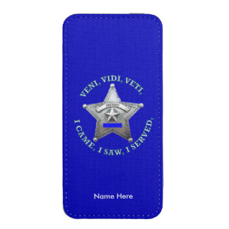 Sheriff Star Badge iPhone 5 Pouch