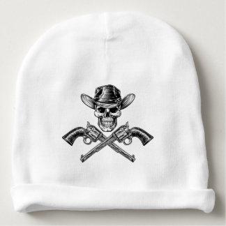 Sheriff Star Hat Skull and Pistols