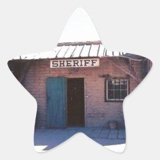 Sheriff Star Sticker