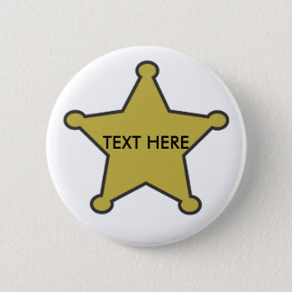 sheriff star text here button