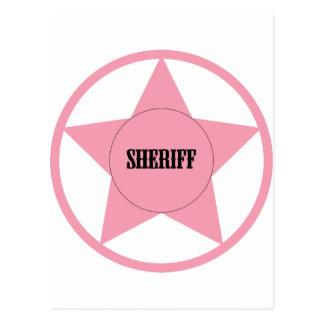 Sheriff Tarjeta Postal