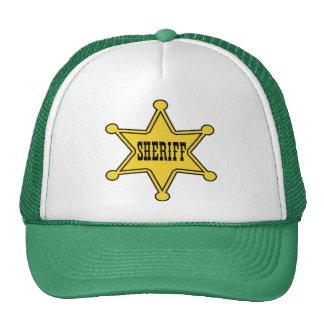 sheriff! trucker hat