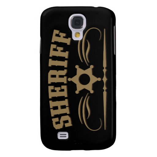 Sheriff Western Style Galaxy S4 Case