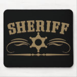 Sheriff Western Style Mouse Pad