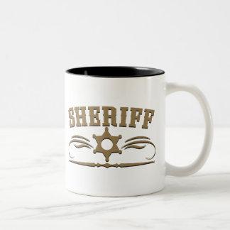 Sheriff Western Style Mug