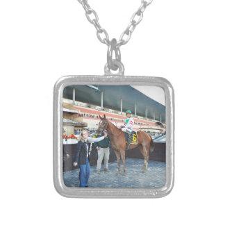 Sheriffa with Cornelio Velasquez Silver Plated Necklace