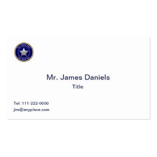 Sheriff's Badge Universal Custom Business Card