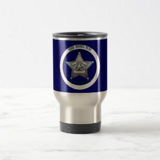 Sheriff's Badge Universal Custom Travel Mug