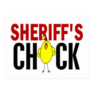 Sheriff's Chick Post Cards