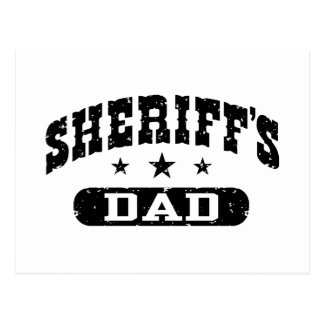 Sheriff's Dad Post Cards