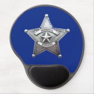 Sheriff's Husband Badge Gel Mouse Pad