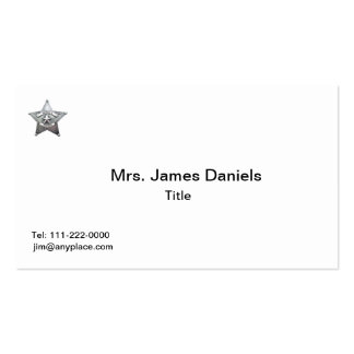 Sheriff's Mother Badge Business Card