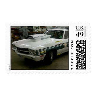 Sheriff's Office Race Car Postage