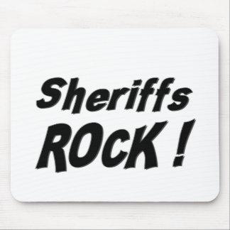 Sheriffs Rock! Mousepad