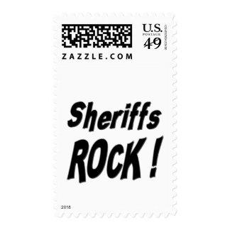 Sheriffs Rock ! Postage Stamp