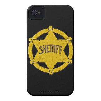 Sheriffs Star Badge iPhone 4 Case