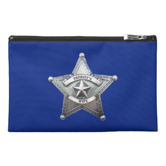 Sheriff's Wife Badge Travel Accessories Bags
