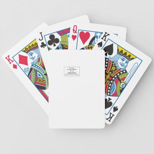 SherleneIsIt Campaign Slogan Items Card Deck