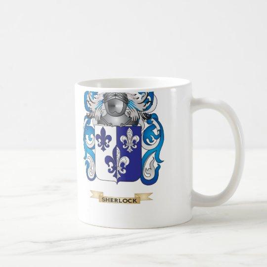 Sherlock Coat of Arms (Family Crest) Coffee Mug