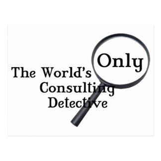 Sherlock Detective Post Card