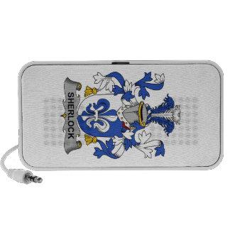 Sherlock Family Crest Travelling Speaker