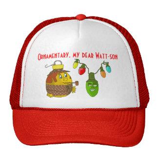 Sherlock Holmes Christmas Trucker Hat
