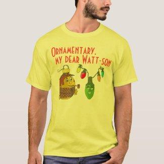 Sherlock Holmes Christmas T-Shirt