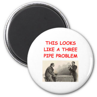 SHERLOCK holmes gifts t-shirts 2 Inch Round Magnet
