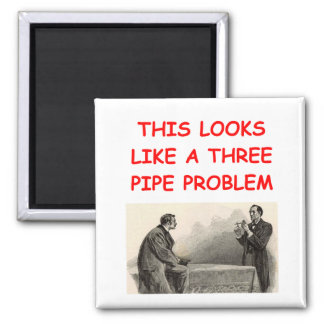 SHERLOCK holmes gifts t-shirts 2 Inch Square Magnet