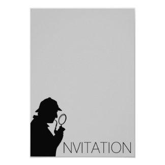 Sherlock Holmes Invitation
