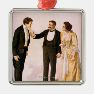 Sherlock Holmes Theatrical Play Poster #2 Metal Ornament