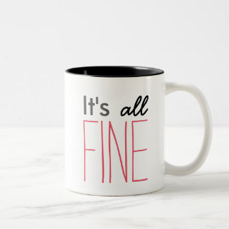 Sherlock It's All Fine Mug