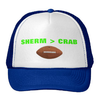 SHERM > CRAB TRUCKER HAT