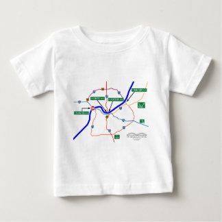 Shermageddon Map Baby T-Shirt