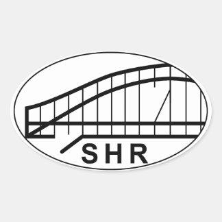 Shermageddon Oval Bumper Sticker