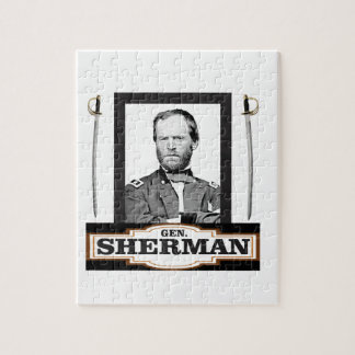 sherman and swords jigsaw puzzle