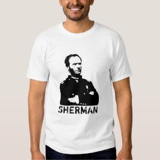 Sherman -- Black and White Shirt
