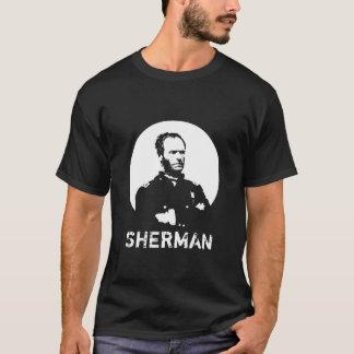 Sherman -- Black and White T-Shirt