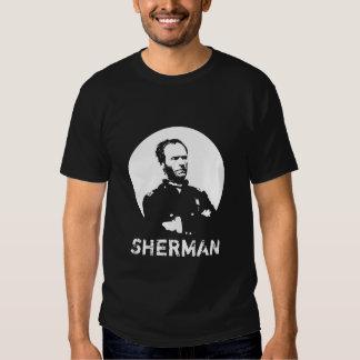 Sherman -- Blanco y negro Playera