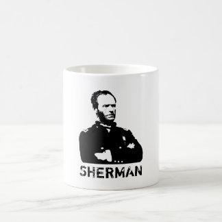 Sherman -- Blanco y negro Taza