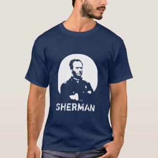 Sherman -- Blue and White T-Shirt