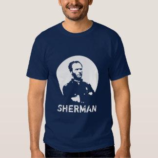 Sherman -- Blue and White Tshirt