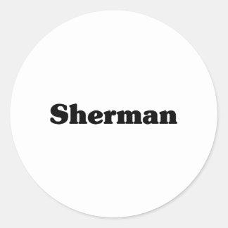 Sherman  Classic t shirts Stickers