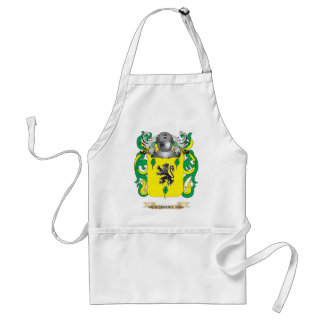 Sherman Coat of Arms (Family Crest) Apron